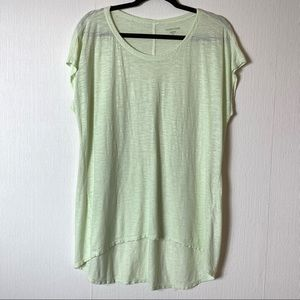 Eileen Fisher Sleeveless Hemp Long Tunic Blouse M